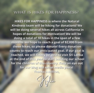 Hikes for Happiness!